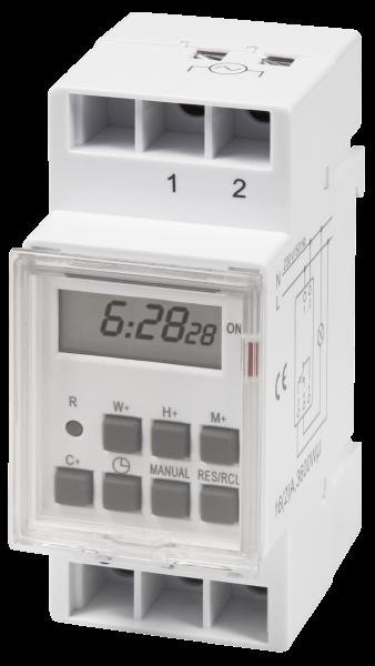 Digitale Zeitschaltuhr 230V für Schalttafel-Einbau